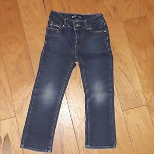 Levi's slim straight girls Jean's